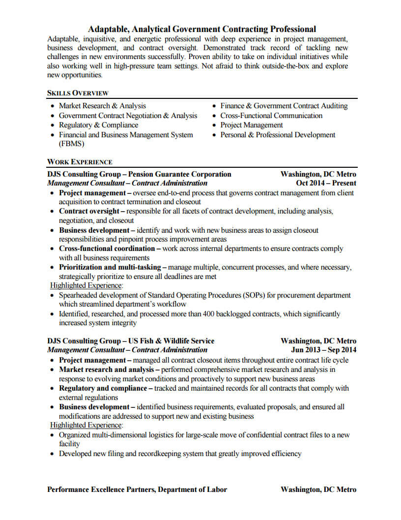 Before and After Resume Examples - ZipJob