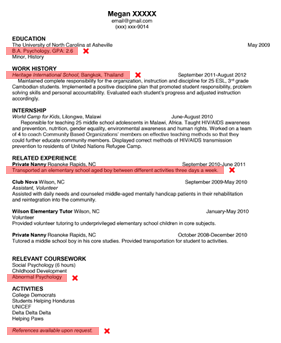 resume - Resume Review